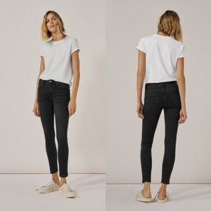 Zara Woman Black Super Hi Rise Skinny Jeans Size 4